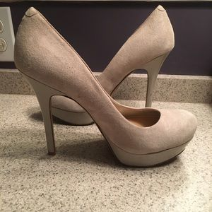 Grey Jessica Simpson Heels